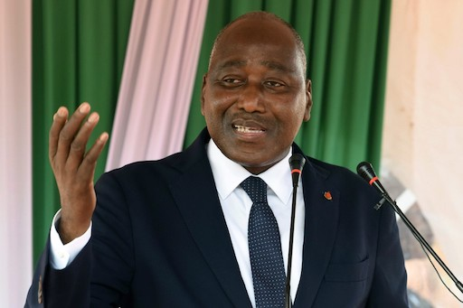 Ivorian prime minister Amadou Gon Coulibaly died on July 8, 2020, at the age of sixty-one. (Issouf Sanogo/AFP)