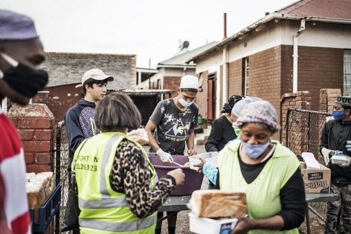 food distribution South Africa